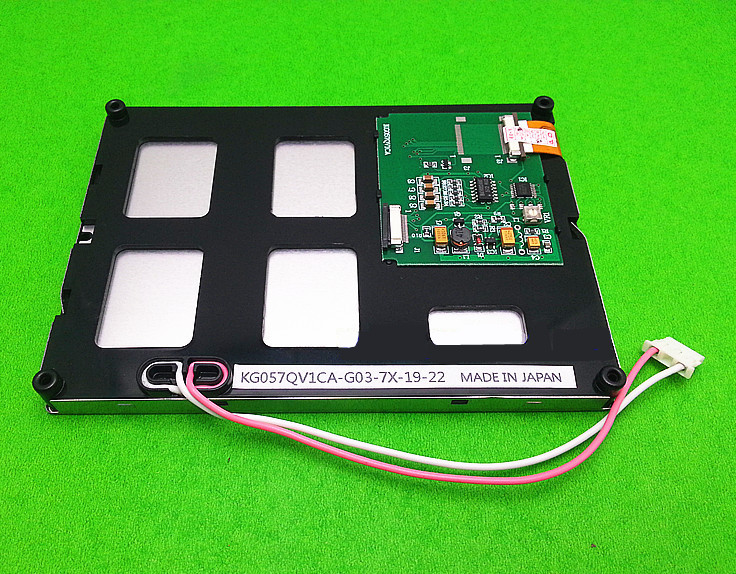 все цены на 5.7 inch LCD screen for KG057QV1CA-G03-7X-19-22 Embroidery machine Injection molding machine LCD panel (without touch) онлайн