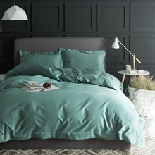 100 pima cotton solid color duvet cover setqueen king size adults bedding set - Pima Cotton Sheets