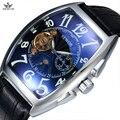 Retro marca sewor ouro automáticas homens mecânicos do relógio de aço inoxidável strap moda casual relógios de pulso dos homens auto vento relógio masculino