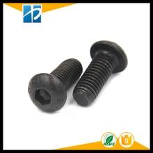 (10 pc/lot) M5,M6,M8 *L =8~50mm grade 10.9 class black oxide ISO7380 alloy steel button head hexagon socket screw