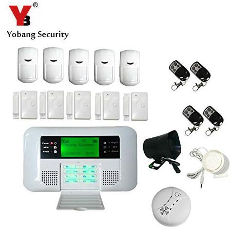 Yobang Security Freeship 40B Home Security Alarm System With External Horn Siren GSM PSTN Intelligent Burglar Inturder GSM Alarm подвесной светильник kolarz austrolux dome a1305 31 6 cu 50