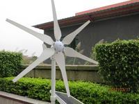 300w Wind Generator DC 12V/24V 6 blades wind turbine generator windmill full power,high quality,CE,ROHS,ISO9001