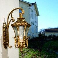 Новый Открытый Водонепроницаемый настенный светильник сад корпус Открытый лампы Прихожая наружная стена света отель, открытый Водонепрон...