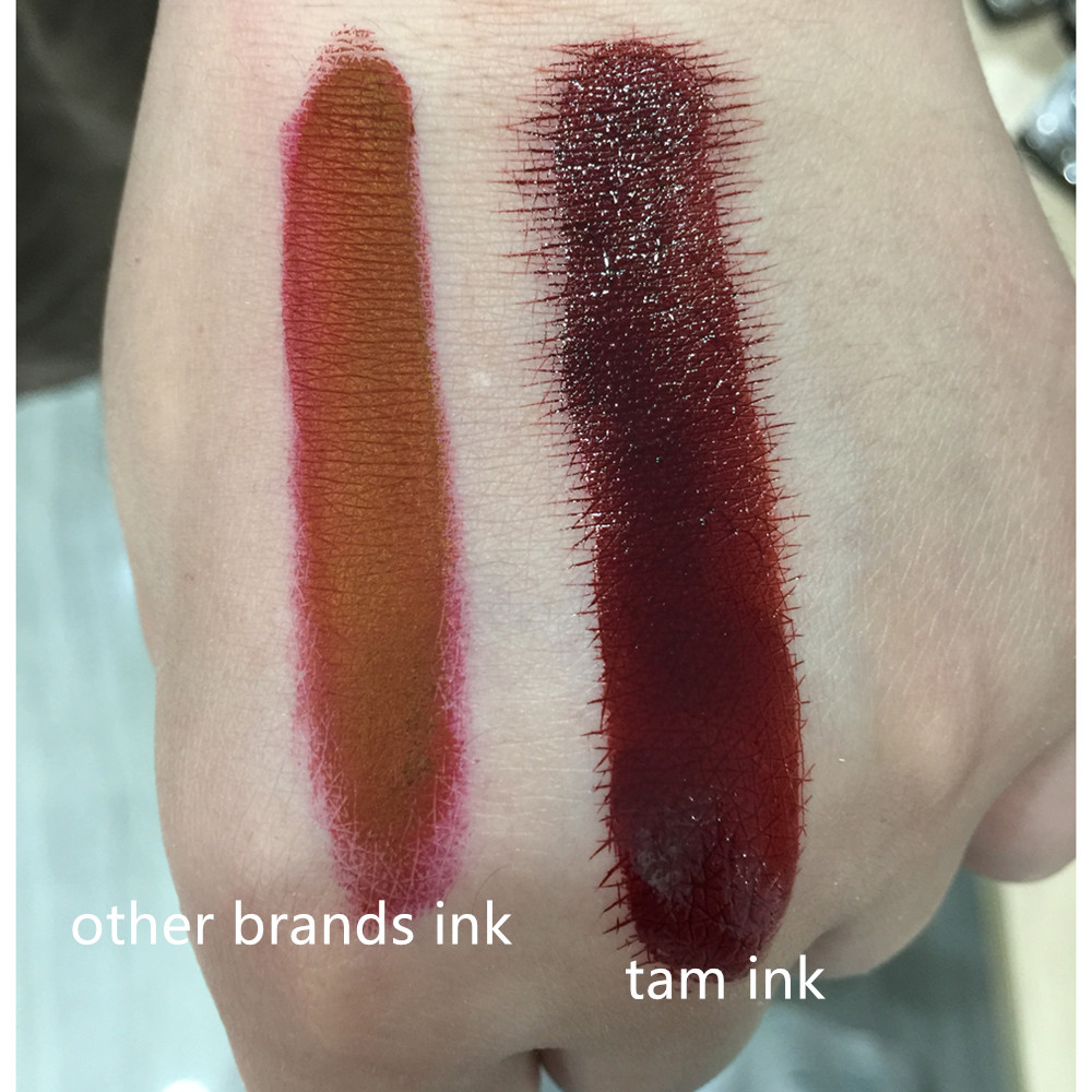 PCD Brown Professional Eyebrow Micro Tattoo Bläck Set Lips - Tatuering och kroppskonst - Foto 6