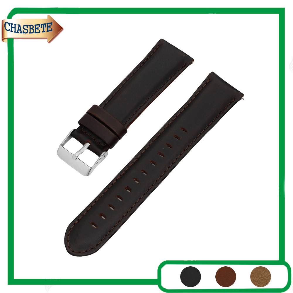 Leather Watch Band for Amazfit Huami Xiaomi Smart Watchband 22mm Quick Release Belt Wrist Strap Loop Bracelet Black Brown + Pin genuine leather watch band 14mm 16mm 18mm 19mm 20mm 21mm 22mm for omega watchband strap wrist loop belt bracelet black brown