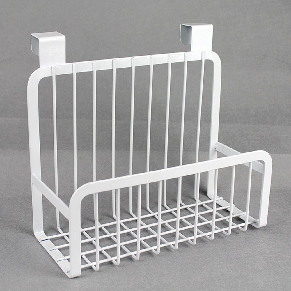 Us 11 05 16 Off Iron Shelves Kitchen Cabinet Hanging Rack Wire Basket Storage Organizer Closet Household In Holders Racks