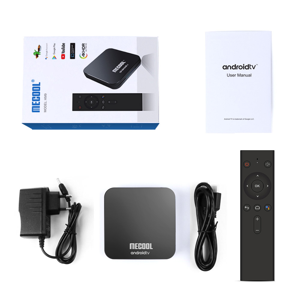 Androidtv 9 0 Google Certified MECOOL KM9 PRO 4GB 32GB