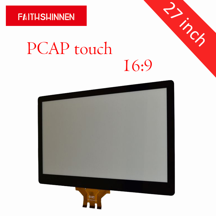 27 inch 16:9 Smart Touch Foil Projected Capacitive Screen Panel ,outstanding Transparency27 inch 16:9 Smart Touch Foil Projected Capacitive Screen Panel ,outstanding Transparency