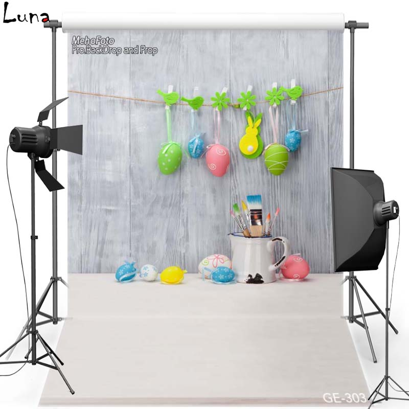 MEHOFOTO Happy Easter Vinyl Photography Background Backdrop For Children New Fabric Flannel Backdrop For photo studio Props 303 sjoloon dinosaur vinyl photography background children photography backdrop numeric printout photo backdrops for studio props