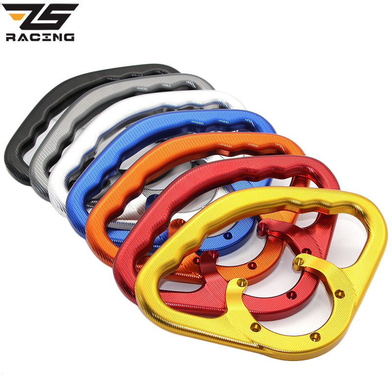 Zs racing passenger safety handle motorcycle front tank handrails for suzuki gsxr gsx r 600 750