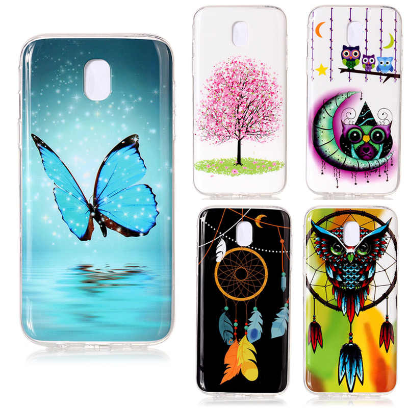 Luxury 3D Luminous Soft Silicon Case For Samsung Galaxy S8 Plus S7 S6 Edge S5 neo J7Neo Nxt Core J5 Prime J3 Pro A3 A5 A8 Note 8