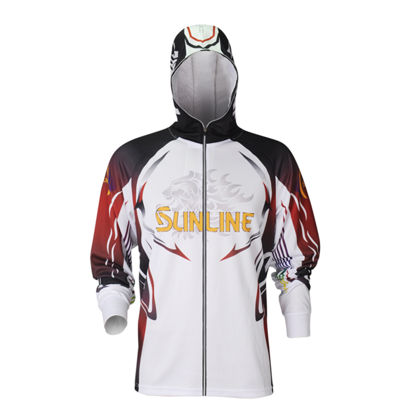Sunline 2019 Fishing Clothes Sunscreen Breathable Summer Quick Dry Outdoor Sports Hooded Anti Mosquito Man Fishing ShirtSunline 2019 Fishing Clothes Sunscreen Breathable Summer Quick Dry Outdoor Sports Hooded Anti Mosquito Man Fishing Shirt