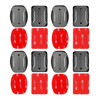 Gopro Accessories Set 4pcs Flat and Curved Base Adhesive Mount 3M VHB Stickers For Go Pro Hero 5 3 2 4 Session Xiaoyi 4K SJ4000
