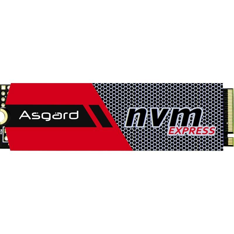 Venta superior Asgard 3D NAND 256GB 512 GB 1 TB M.2 NVMe pcie SSD disco duro interno para ordenador portátil de escritorio de alto rendimiento PCIe NVMe - 2