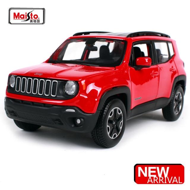 Jeep Models 2015 >> Us 29 59 10 Off Aliexpress Com Gt Toy Model Store Uzerinde Guvenilir Maisto Models Tedarikcilerden Maisto 1 24 2015 Jeep Renegade Sehir Suv