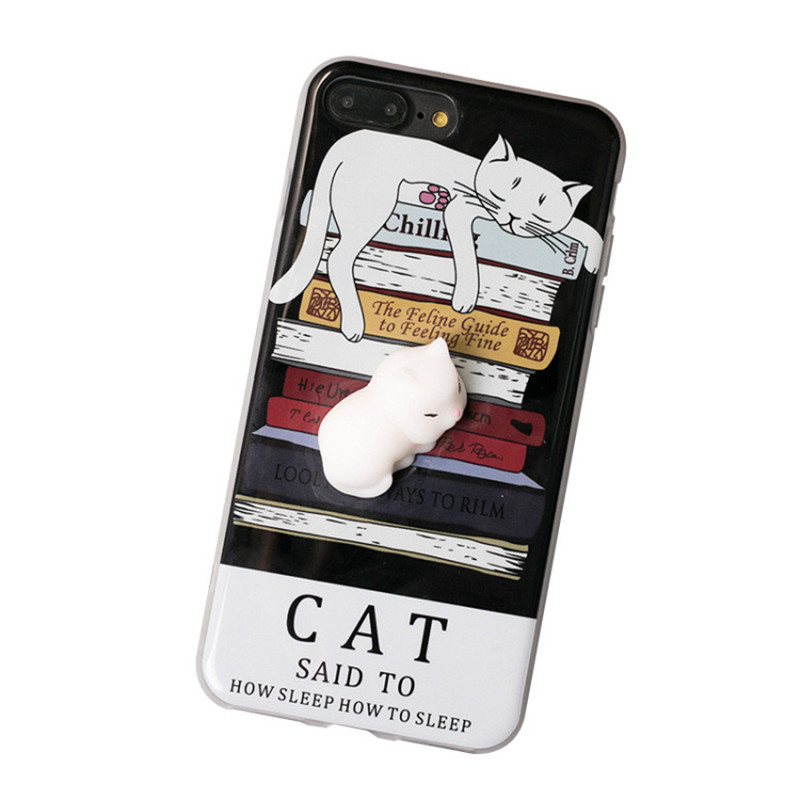 Squishy Cat Case : Special Offer! Squishy Lazy Cat Case for iPhone