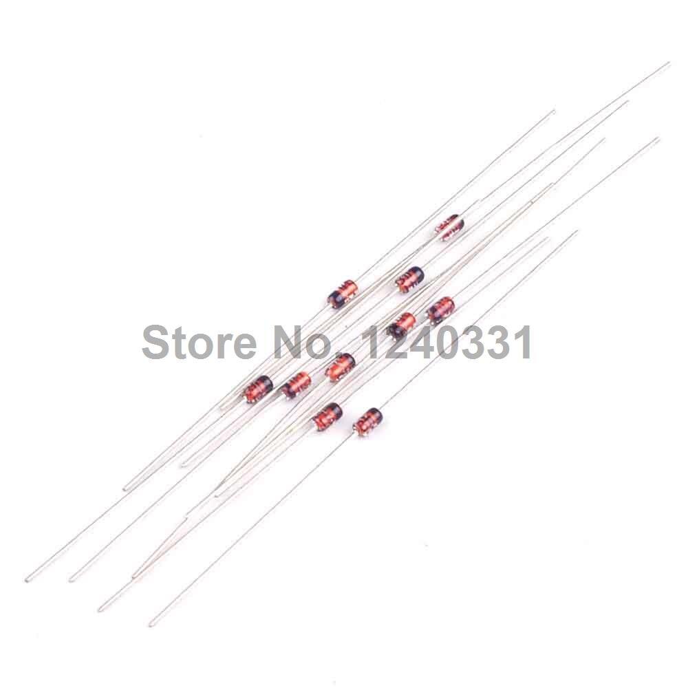25x Z-Diodo 5,6 VOLT//0,5 Watt bzx55c5v6 Zener