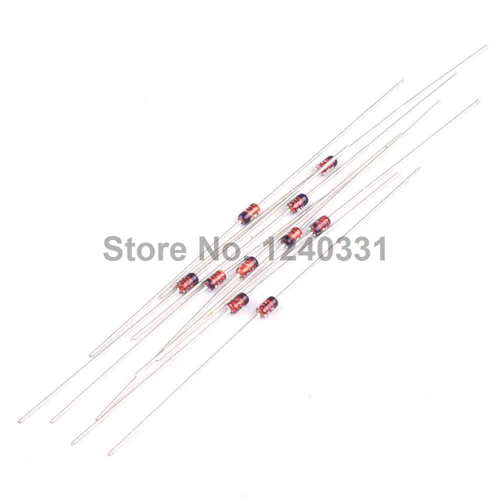 100pcs 1 2w 5v6 56v 05w Do 35 Zener Diode Dip Bzx55 C5v6 Bzx55c5v6 Super Steady Circuit Silicon Planar Power Diodes In From Electronic Components Supplies On