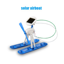 6 in 1 DIY Solar Kit Robot Windmill Car Helicopter Plane Airboat for Kids – Educational Toy