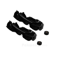 XR210 Robot Vacuum Cleaner Spare Parts Hair Brush With Rubber Sleeve 2 Pcs