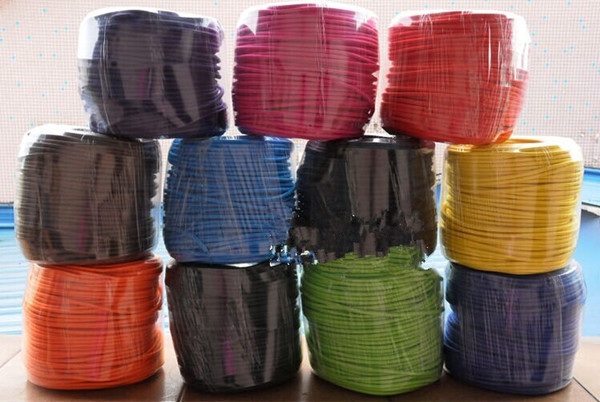 5m/lot 2x0.75 Twisted Wire Twisted Cable Retro Braided Electrical Wire Fabric Wire DIY wire vintage lamp cord rope cable 5m yaskawa servomotor sgmgh 13aca61 driver sgdm 15ada encoder connecting cable wire