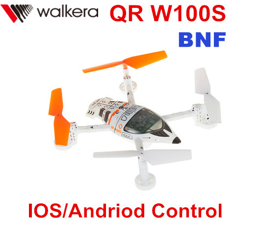 (In stock) Free Shipping Upgrade Version Walkera QR W100S WIFI RC FPV Drone Quadcopter BNF with HD Camera IOS/Andriod Control