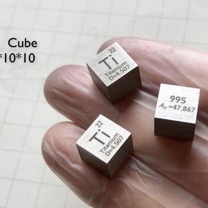 1pcs Space element Ti 995 cube