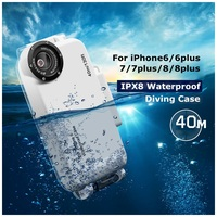 DULCII For IPhone 6 Waterproof Case 40M Underwater Diving Phone Cover For IPhone 6s Plus 7