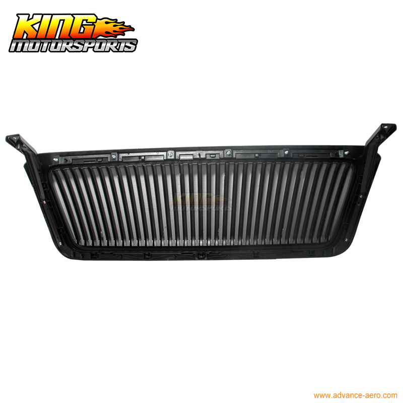 For 2004-2008 Ford F150 F-150 Black VERTICAL Hood Grill Grille USA Domestic Free Shipping Hot Selling for 07 09 toyota tundra chrome mesh grill grille brand new 2007 2008 2009 usa domestic free shipping hot selling