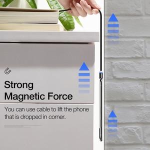 Image 5 - Raxfly磁気ケーブルマイクロusbタイプcケーブルiphone 11プロマックスxiaomi redmi高速充電ワイヤー1メートルledマグネット充電器ケーブル