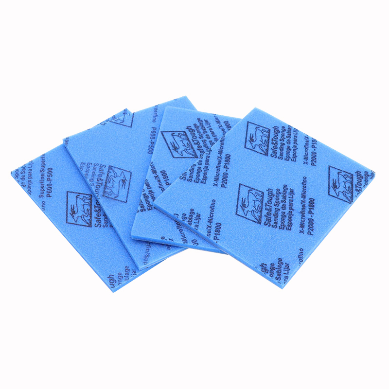 1pc High Quality Sponge Sandpaper Elastic Grinding Block Sliding Mark Polishing Plastic Shell Polish