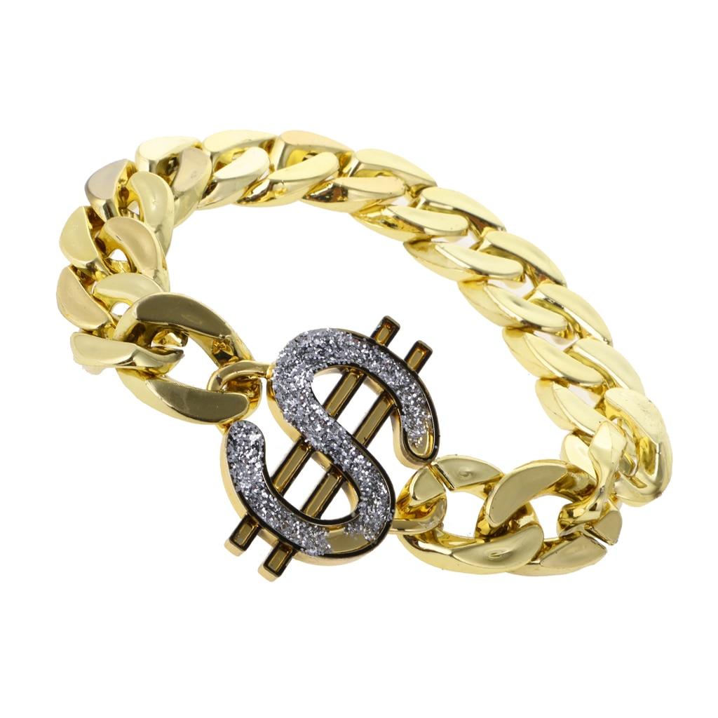 Glitter Gold US Dollar Sign...
