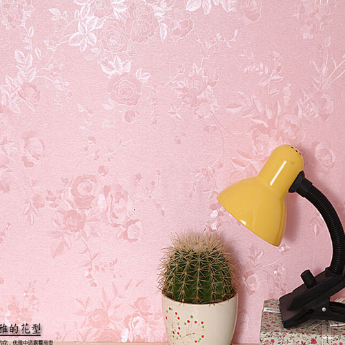 Pink Rose Self Adhesive Vinyl Wallpaper PVC Wall Paper Waterproof Living Room Bedroom Wall Stickers papel de parede 3D Moderno self adhesive wall paper furniture marble 3d wallpaper waterproof wall mural papel bathroom kitchen papel de parede adesivo
