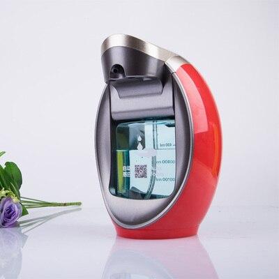 Casa hotéis de luxo inteligente espuma handwash dispensador de sabão automático sensor eletrônico mão desinfetante garrafa de espuma montado na parede - 4