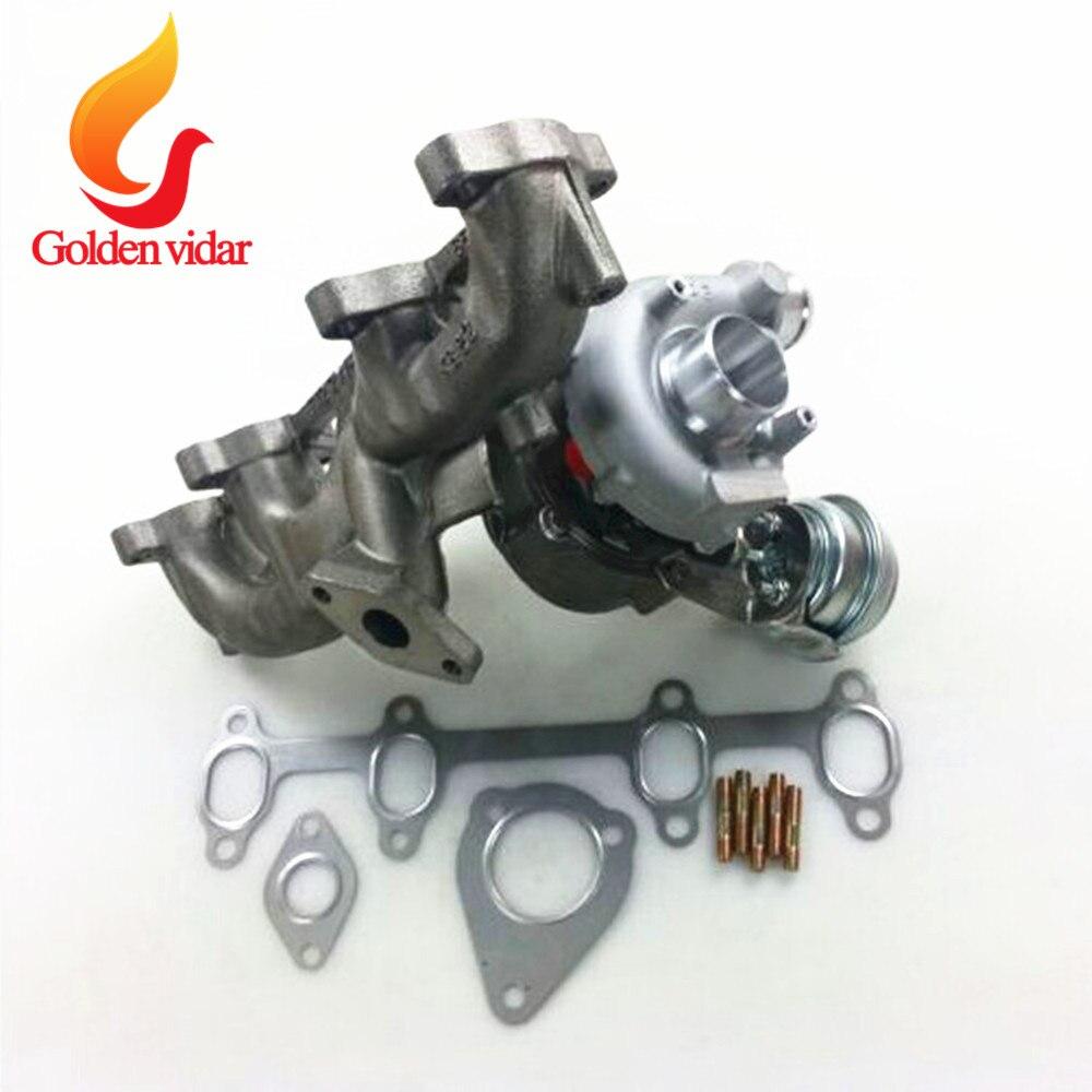 Полный турбокомпрессор Garrett GT1749V 713672/454232 0001/3/4/5 turbo для Audi A3 1,9 TDI 038253019C, 038253019CX, 038253019CV