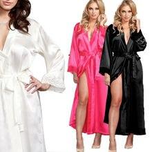 Women Sexy Lingerie Silk Lace Robe Dress Babydoll Nightdress Nightgown Sleepwear women lingerie sleepwear femme sexy lace silk underwear lingerie sleepwear nightdress robe dress