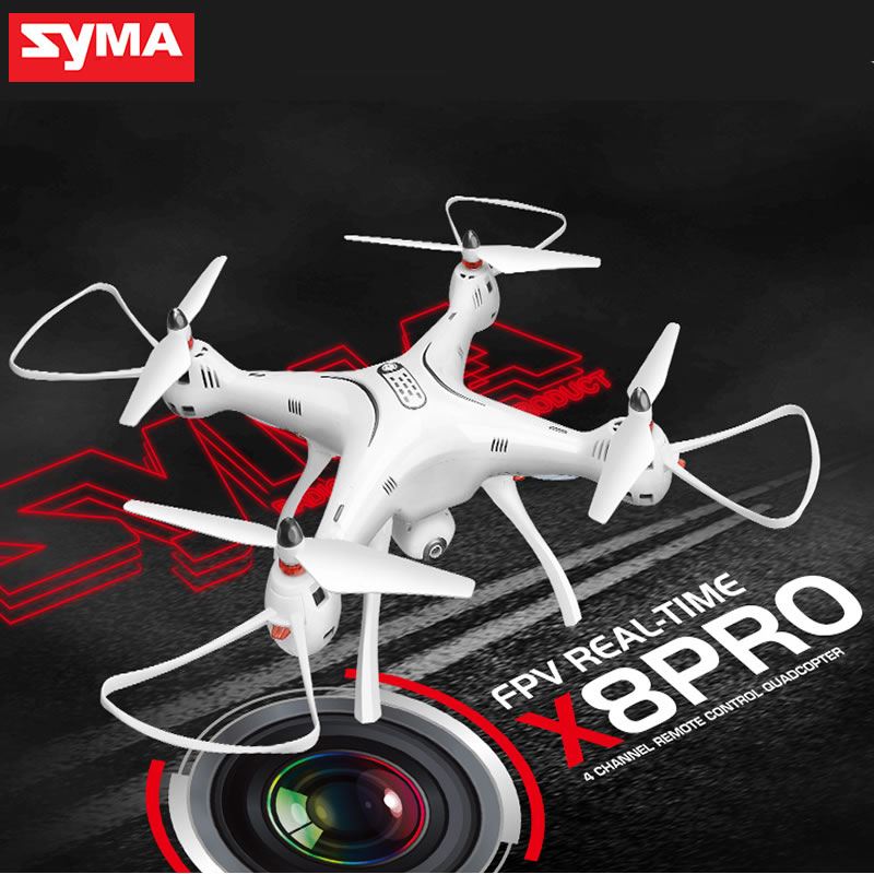 SYMA X8PRO X8 Pro GPS RC font b Drone b font with Wifi 720P HD Camera
