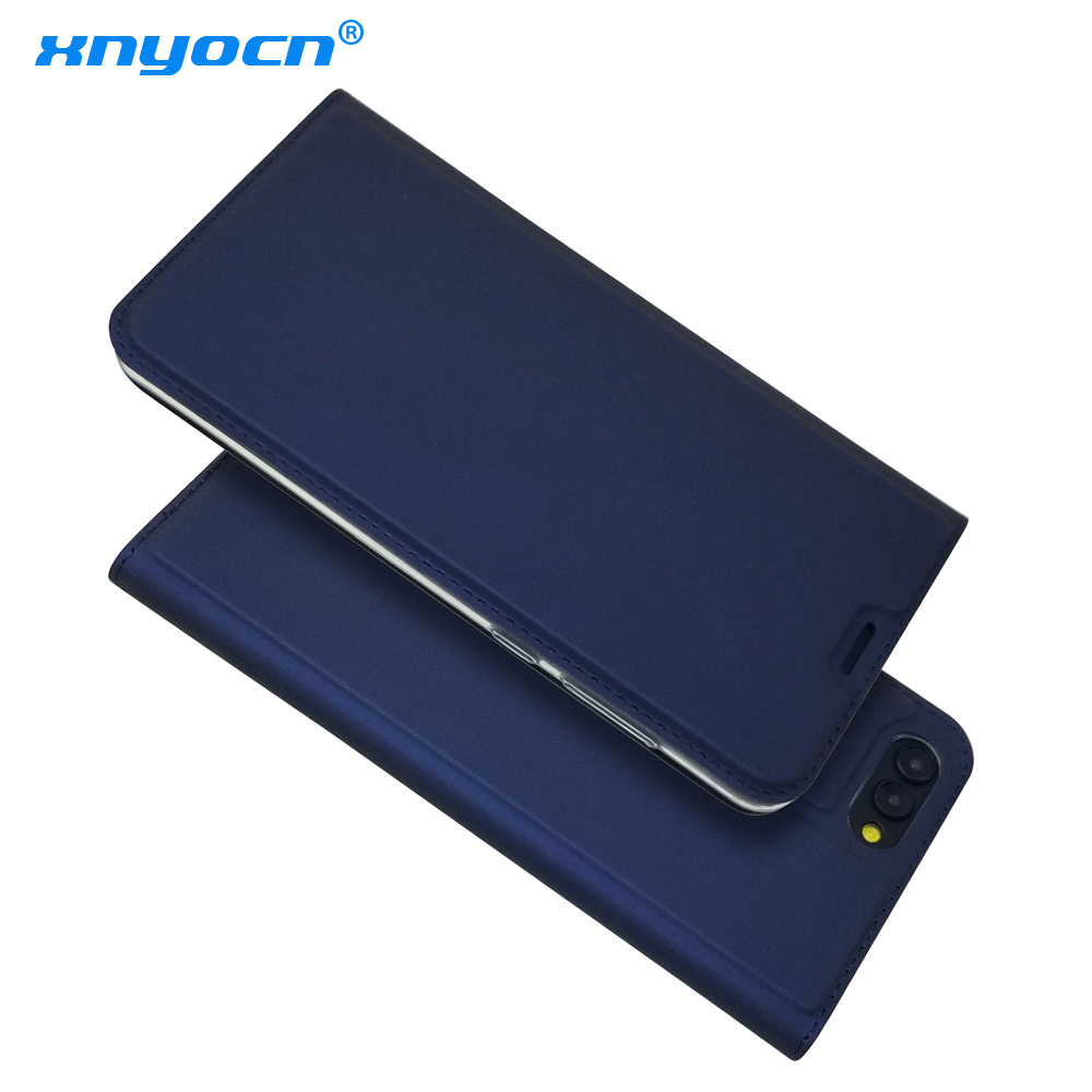 Huawei Honor 10 V10 Case Luxury Flip Leather Wallet Book Cover Case for Huawei Honor 10 Honor10 5.84 Phone Case Coque Blue