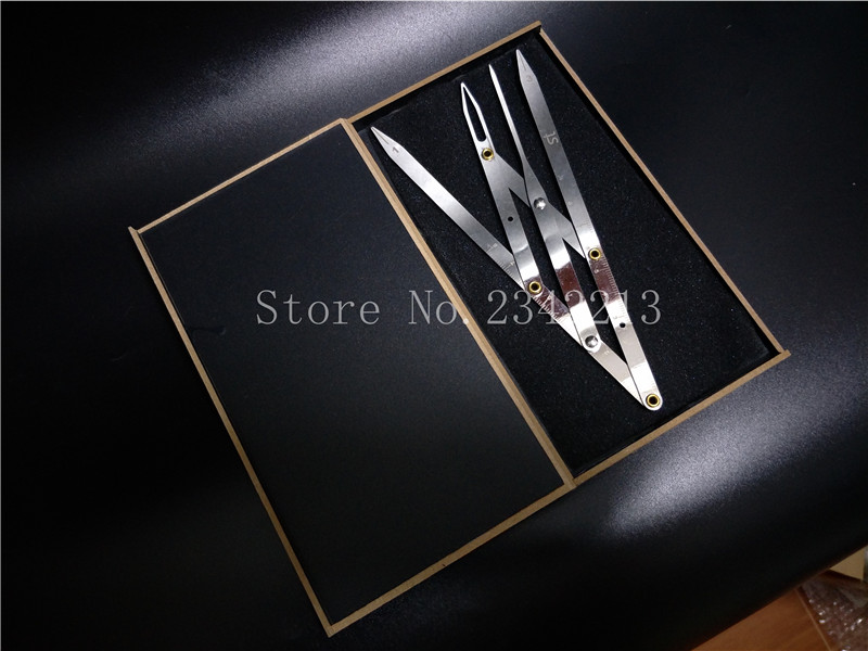 Golden Proportion Ruler For Permanent Makeup Eyebrow Measure Tool Mean Golden DIVIDER CALIPERS Microblading For Beginner