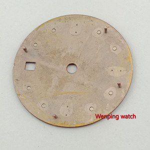 Image 3 - Bliger 28.5mm אין לוגו זוהר תאריך חלון אדום שעון חיוג fit ETA 2824 2836 MIYOTA 8215 821A Mingzhu DG2813 אוטומטי תנועה
