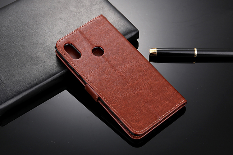 For Xiaomi Mi A2 Case Premium Leather Wallet Stand Flip Leather Case for Xiaomi Mi6x capas for original xiaomi mi 6x case in Fitted Cases from Cellphones Telecommunications