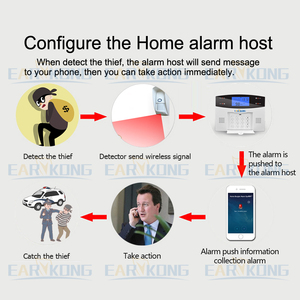 Image 2 - Outdoor Waterproof Wireless Animal Immune Infrared Detector 433MHz Long Working Distance For Home Burglar Wifi /GSM alarm system