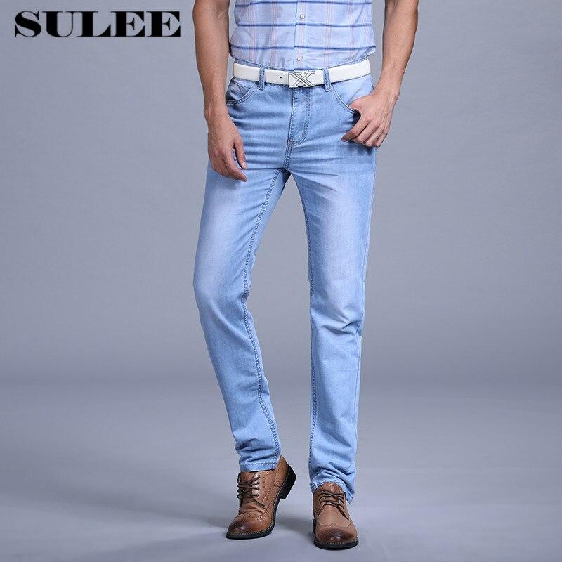 2017 Estate Utr Sottile Uomini Di Modo Jeans Casual Pantaloni Jeans Pantaloni Scarni Del Denim Jeans Famous Brand Slim Fit Jeans