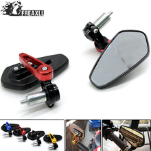 Universal Motorcycle acessories Mirrors Side Rearview Mirror 7/8 22mm handle bar For CB 650 F NC 750 X MSX 125 GSR 600 Suzuki