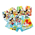5Pc/lot Baby Boys Boxers Kids Underwear Milk Fiber Panties Cartoon Printed Mickey Underpants Infantil Calcinha 3-11 Year KU09