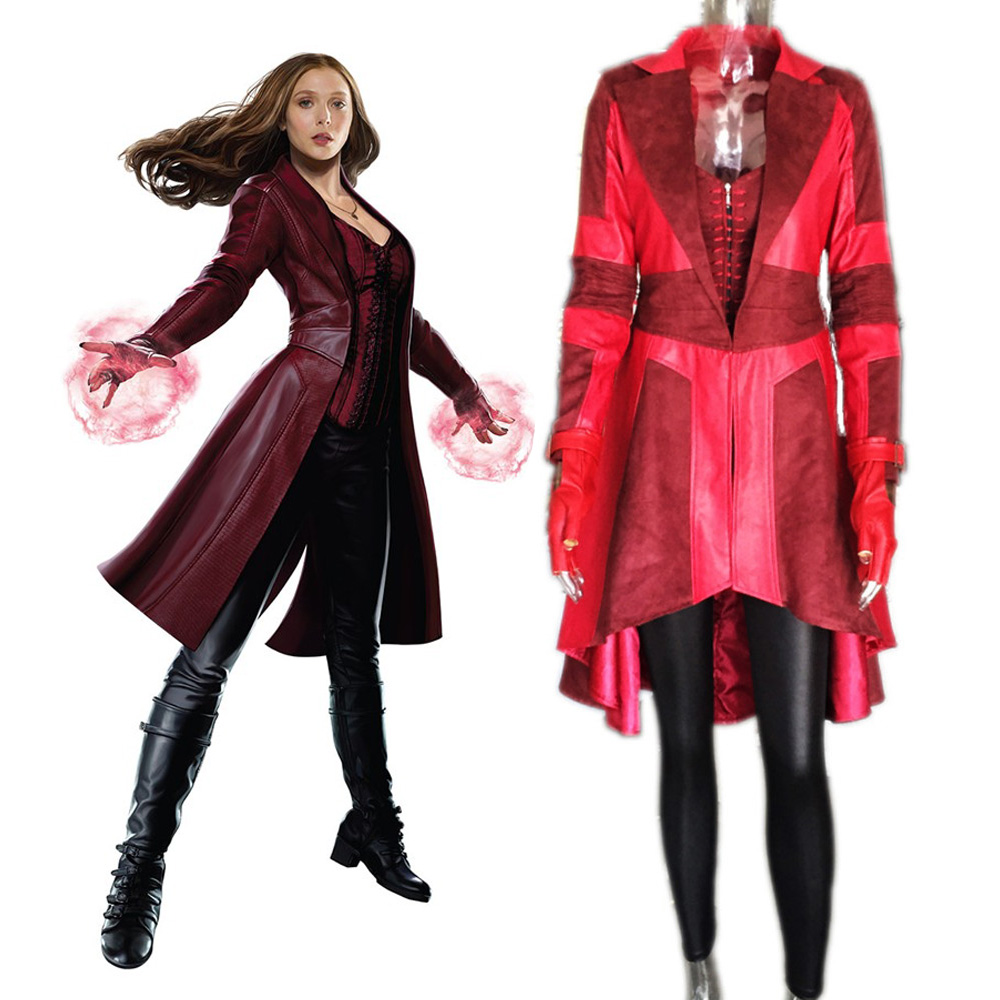 Online Buy Wholesale scarlet witch jacket from China scarlet witch ...