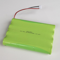 14.4V NI MH SC Rechargeable Battery Pack Vacumm Cleaner 3500mAh for Ecovacs sweeping mopping machine 4 Pin plug