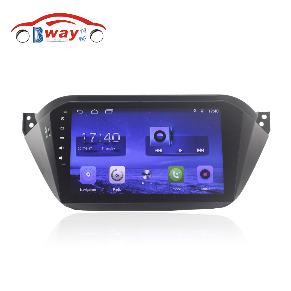 Bway 9 &#8220;Quad Core автомобильный радиоприемник gps-навигация для 2015 Jac уточнить <font><b>S2</b></font> Android 6.0 автомобиль DVD видео плеер с wi-Fi, <font><b>BT</b></font>, МЖК