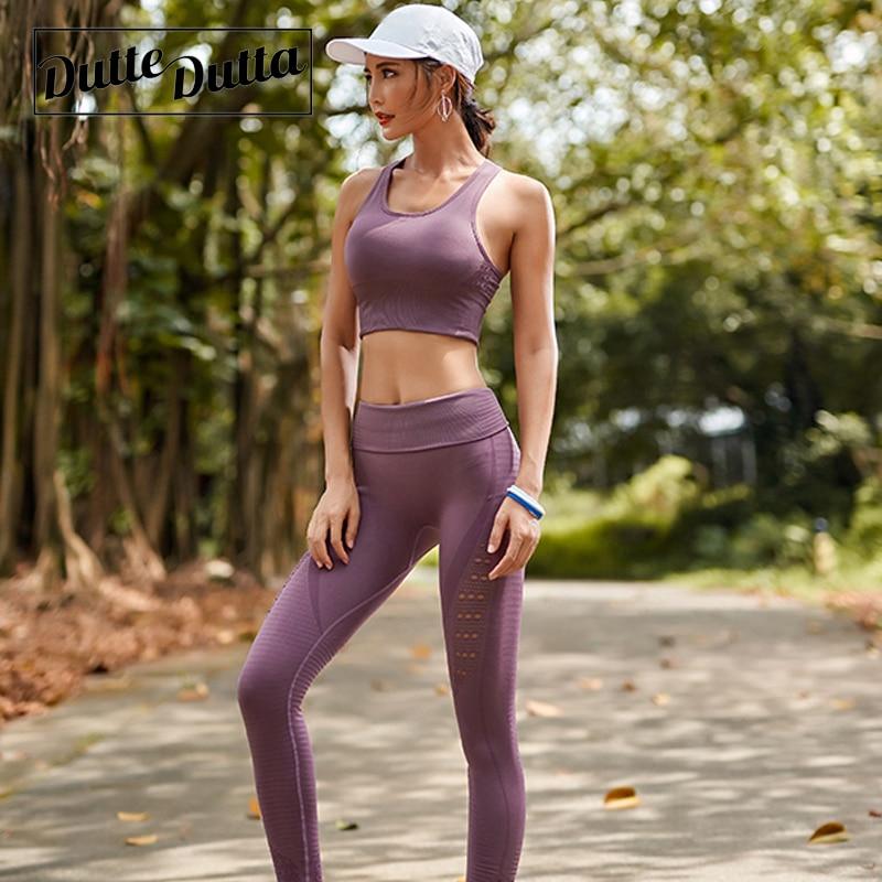 Duttedutta Women Push Up Yoga Bra Fitness Top Gym Seamless Sport Bra Top Women 39 s Active Wear for Sport Bh Running Workout Bra in Sports Bras from Sports amp Entertainment