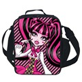 Insulated Monster High Lunch Bag Kids Baby Tote Picnic Lunchbox Lunch Package Convenient Portable